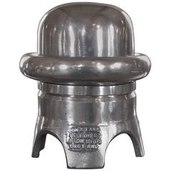 Polished Metal Aluminum Hat Block Mold from Boon & Lane, Luton Beds, England