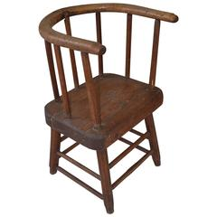Folk Art Windsor Chair
