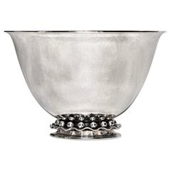 Mid-Century Danish Modern Sterling Bowl by Cohr