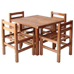 Elsa Stackelberg Redwood Patio Set, Sweden