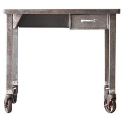 Industrial Metal Rolling Desk