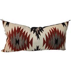 Geometric Eye Dazzler Bolster Pillow