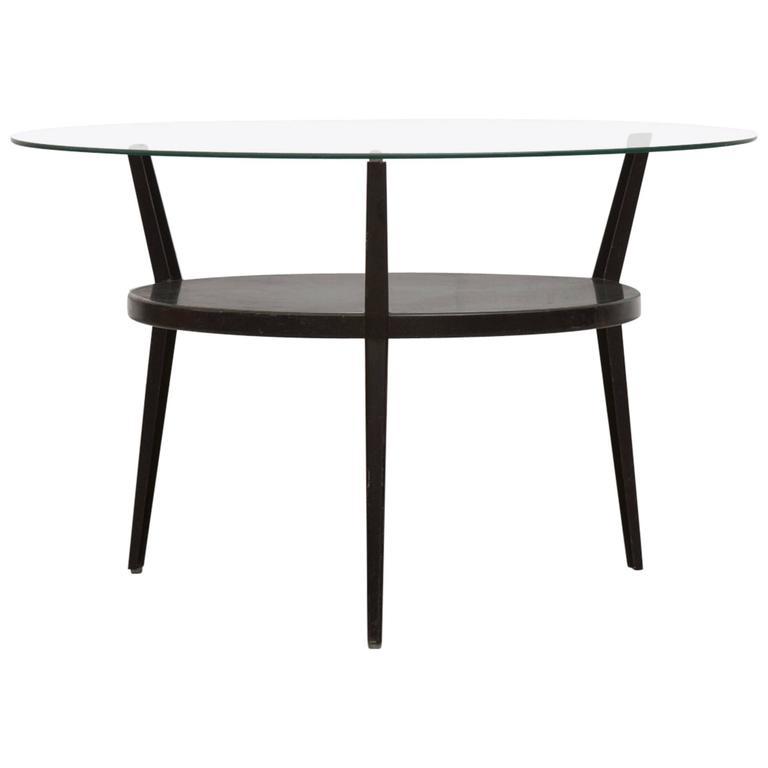 1964 Rare Friso Kramer Coffee Table For Ahrend De Cirkel: Rare Friso Kramer Round Rotunda Table, 1965 At 1stdibs