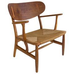 Hans Wegner CH22 Lounge Chair for Carl Hansen & Søn