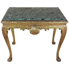 George I Style Carved Giltwood and Gesso Pier Table