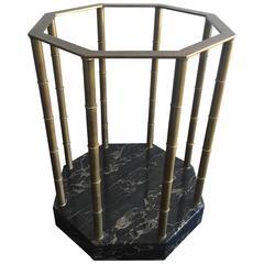 Brass Marble Mastercraft Table