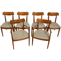 Six Kipp Stewart and Stewart MacDougall Dining Chairs for Drexel Declaration