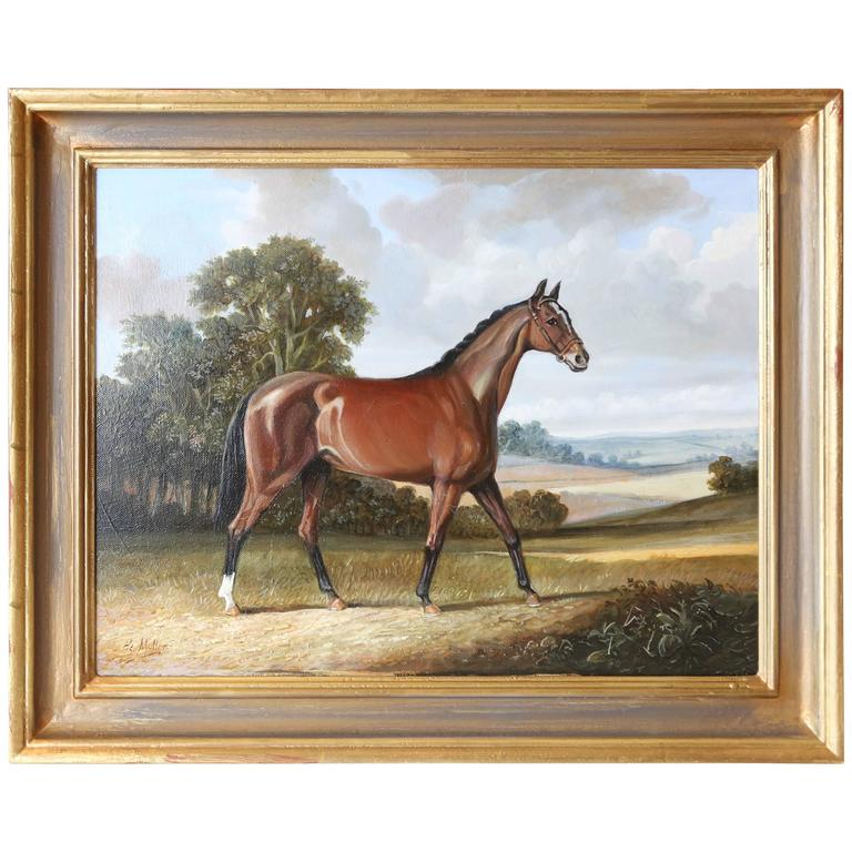 Painting of Horse by André de Moller