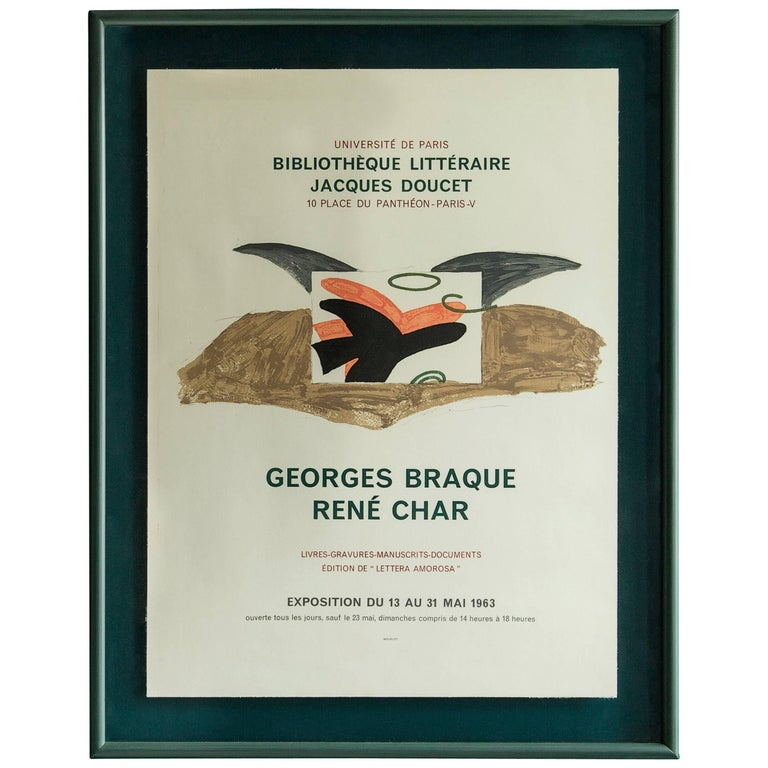 Georges Braque Vintage Poster 1