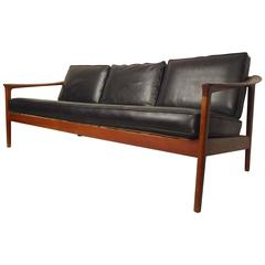 Folke Ohlsson Sofa with Teak Frame