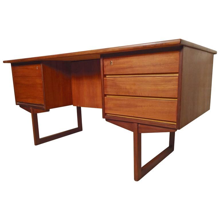 Mid-Century Executive Danish Desk