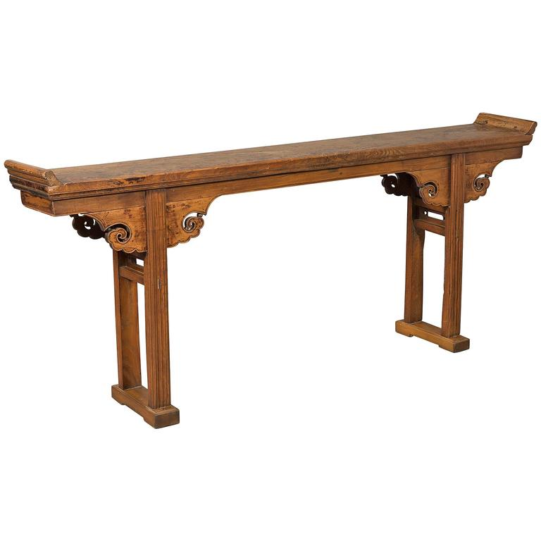 19th Century Chinese Altar Table 1