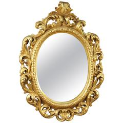 Early 20th Century Mirror Made by Giltwood