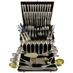 Tuileries by Gorham Sterling Silver Dinner Flatware Set for 12 Service 168 Pcs