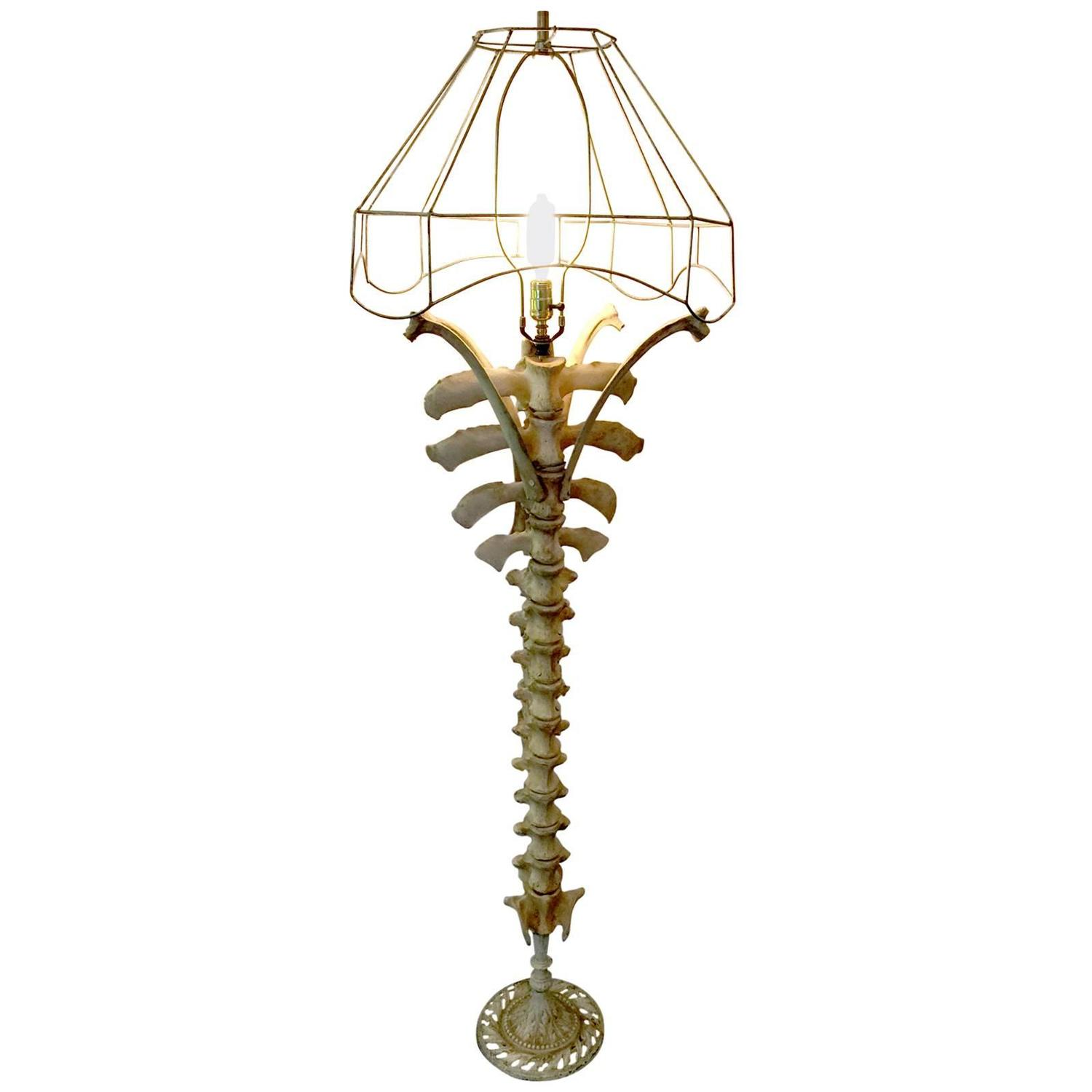 Cow Spine Floor Lamp at 1stdibs