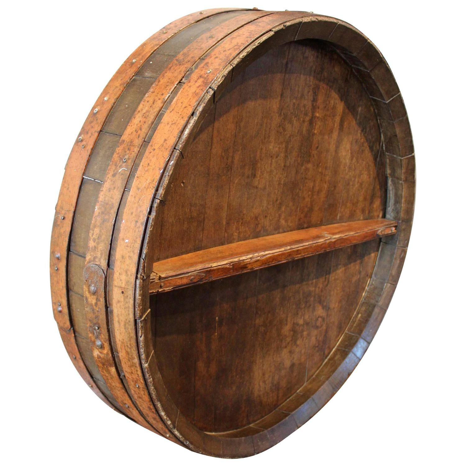 Wine Barrel Wall Art 15 creative diy wine barrel project ideas gallery for wine barrel