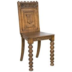 Antique Germanic Hall Chair