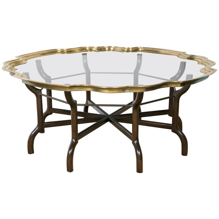 Baker Furniture Milling Road Coffee Table: Baker Coffee Table At 1stdibs