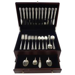 Engagement by Oneida Sterling Silver Flatware Set Service 64 Pieces