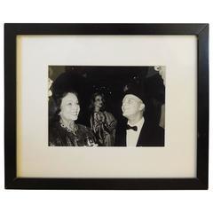 Truman Capote at Studio 54 by Bob Colacello, 1980