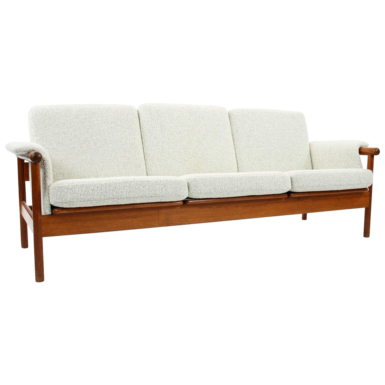 Danish Modern Sectional Sofa Nanna Ditzel Style Four Seat