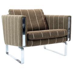 Hans Wegner for Johannes Hansen Vintage Danish Mid-Century Modern Lounge Chair