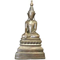 Large Bronze Buddha, 17th-18th Century