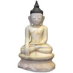 Shan Alabaster Buddha, 18th Century