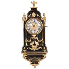 Small Decorative Louis XIV Boulle Inlaid Bracket Clock, circa 1720