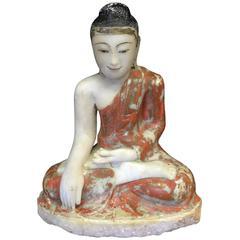 Mandalay Alabast Buddha, 19th Century