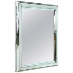 Modern Large All-Glass Wall Mirror