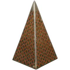 Enameled Pyramid by Raymor