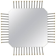 Motherboard Square Mirror by Collection Particuliere