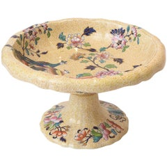 19th Century English Centerpiece with All-Over Design and Peacock Parsley Spode