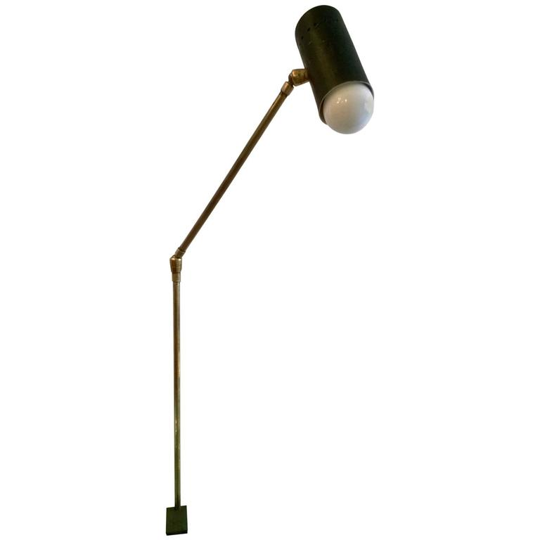 French 1950s Directional Desk Lamp
