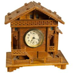 Black Forest Clock Chalet with Musical Movement, circa 1910