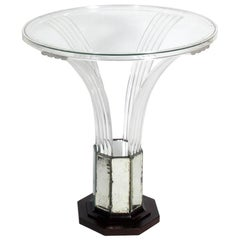 Glamorous Lucite Table by Grosfeld House, circa 1930s