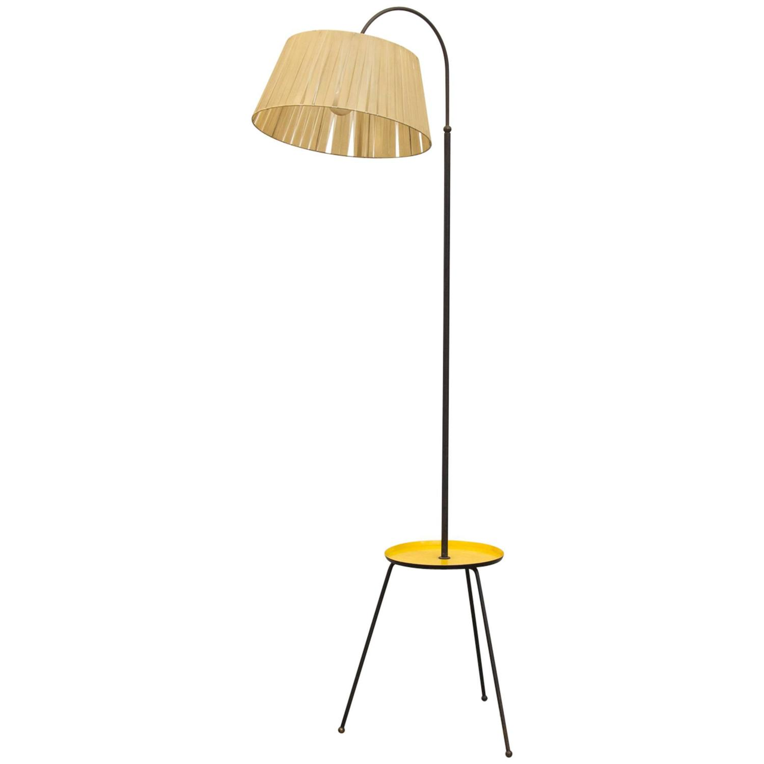 Rare Pilastro Standing Tripod Table Lamp At 1stdibs