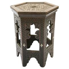 Anglo-Indian Accent Table