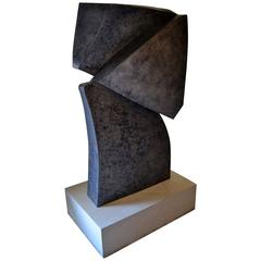 Abstract Steel Sculpture by Scott Donadio