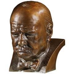 Bust of Sir Winston Spencer Churchill K.G