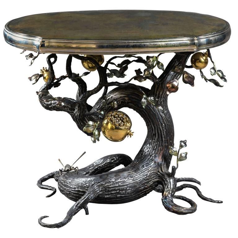 Jones 2013 Unique Pomegranate Coffee Table For Sale At 1stdibs