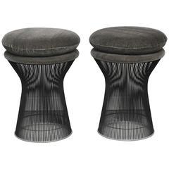 Warren Platner Bronze Stools