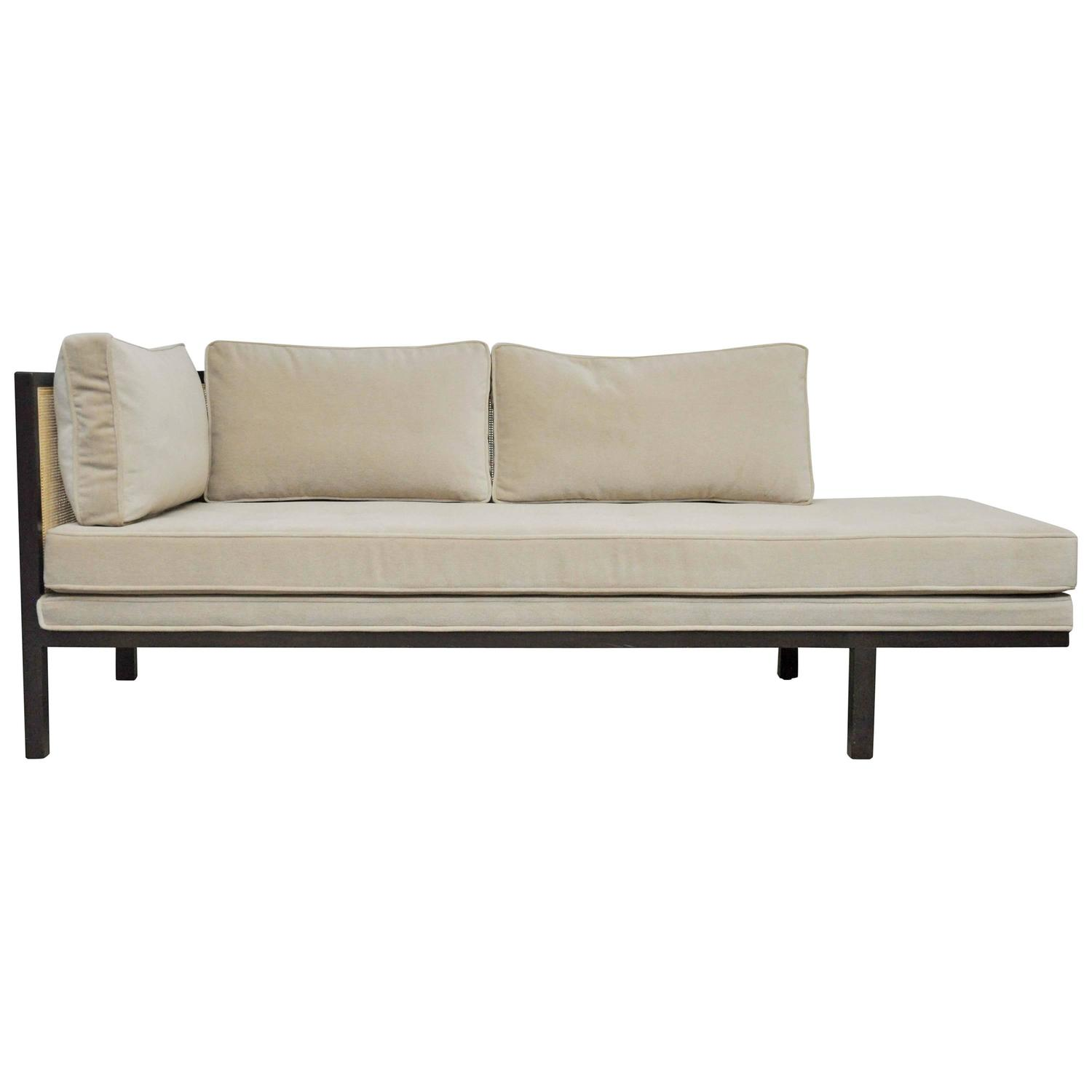 Dunbar chaise longue by edward wormley at 1stdibs for 1 zitsbank met chaise longue