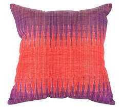 Early 20th Century Ikat Pillow