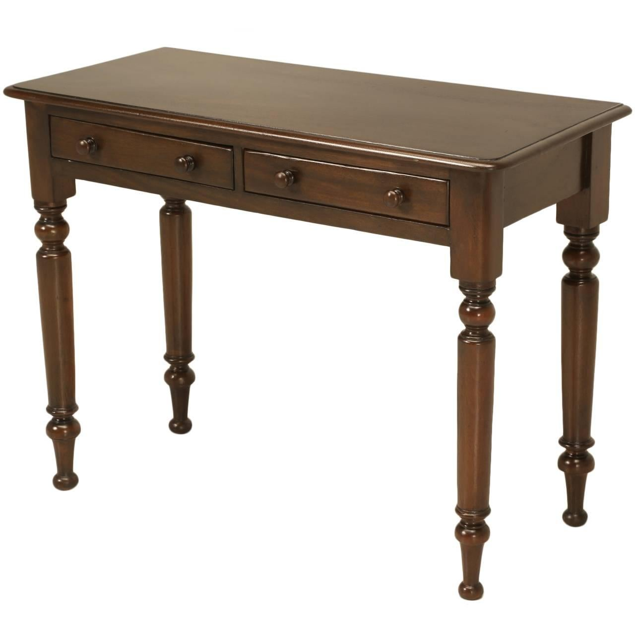 French Console or Writing Table, circa 1800s