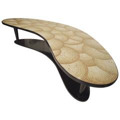 Outstanding Large Mid-Century Tiled Coffee Table