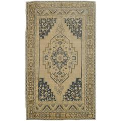 Large Gallery Size Hand-Knotted Turkish Rug