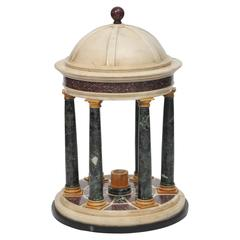 Early 19th Century Grand Tour Model of a Classical Temple