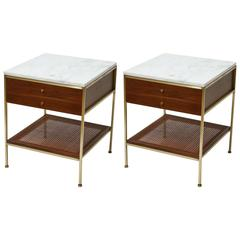 Handsome Pair of Paul McCobb Night Stands or Side Tables for Calvin